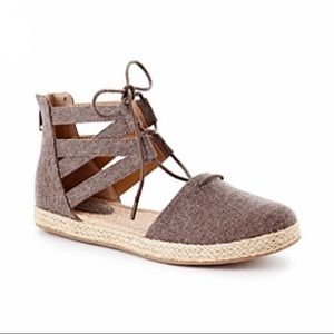 B.O.C Lucy Gladiator Espadrille Shoes